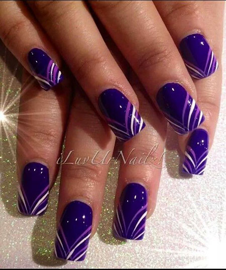 Nail Purple Nails Designs