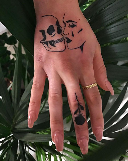 Tattoo Tattoos Hand Love
