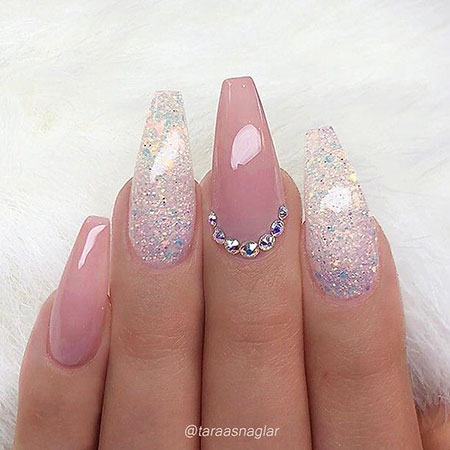 Nail Nails Coffin Designs