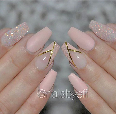 Nails Nail Gold Coffin