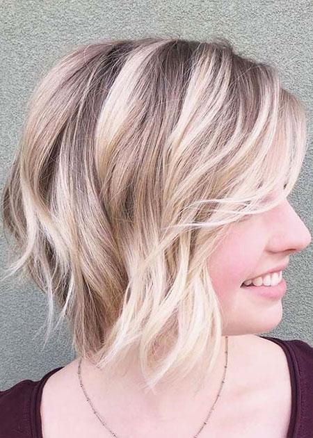 Bobs Hair Blonde Fine