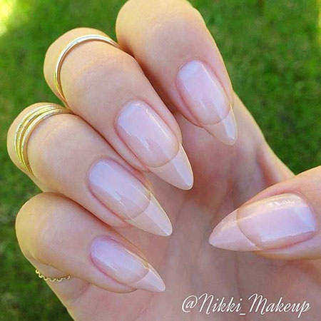 Stiletto Nails Nail Nude