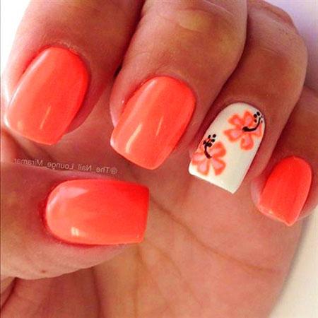 Nail Polish Wedding Manicure
