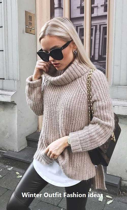 Outfit Ideas for Winter 2019-7