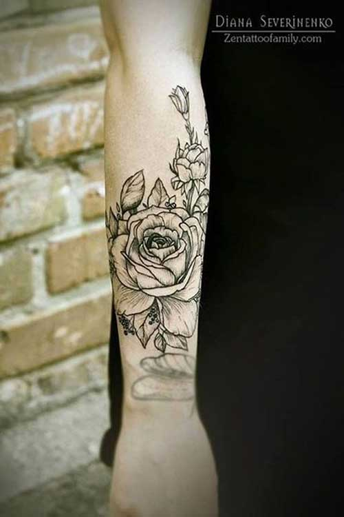 Lower Arm Tattoos -11