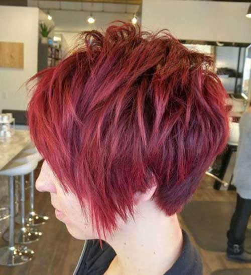Hairstyles for Short Hair -17