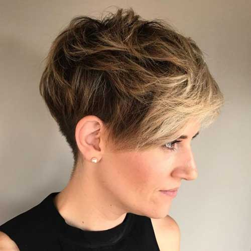 Hairstyles for Short Hair -25