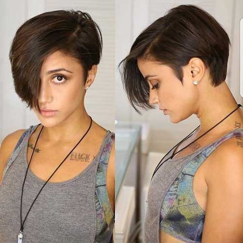Hairstyles for Short Hair -9