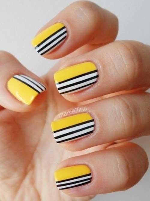Geometric Nail Designs-11
