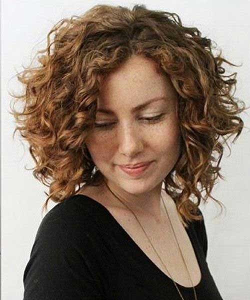 Medium Length Naturally Curly Hairstyles-11