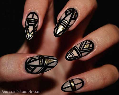 Geometric Nail Designs-18