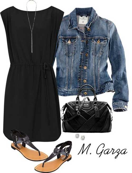 Mini Dress Street Style Outfit-10