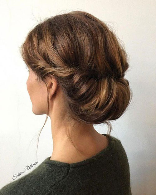 Bun Hairstyles for Summer-11