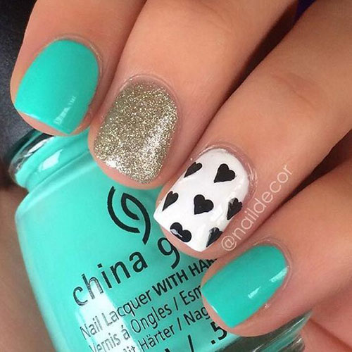 Cute Easy Nail Designs-12