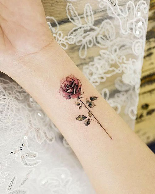 Rose Tattoos for Women-13