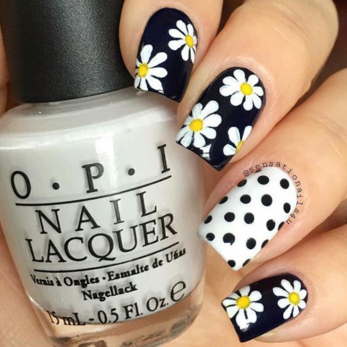 Cute Easy Nail Designs-15