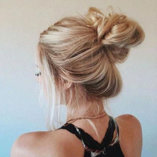 Bun Hairstyles for Summer-15