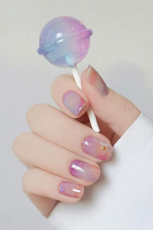 Cute Easy Nail Designs-17