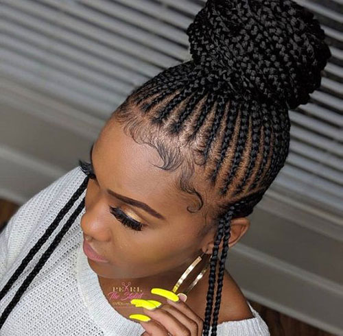Bun Hairstyles for Summer-18