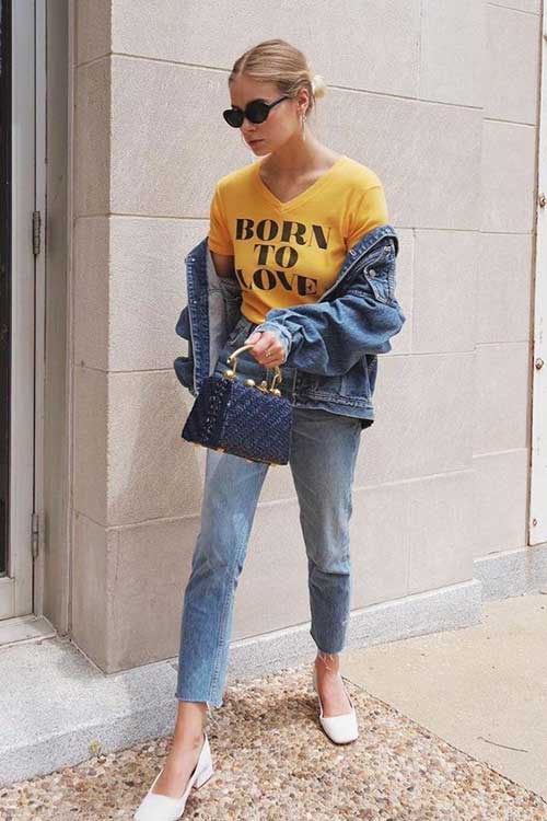 All Jean Street Style Outfit-8