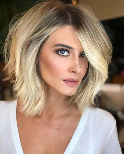 Blonde Bob Haircuts for Women-9
