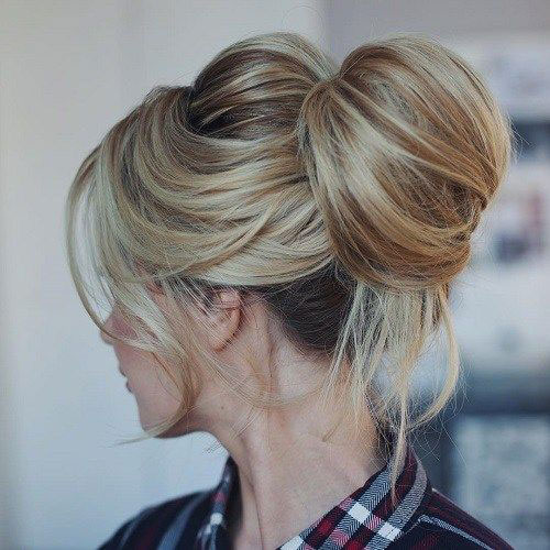 Bun Hairstyles for Summer