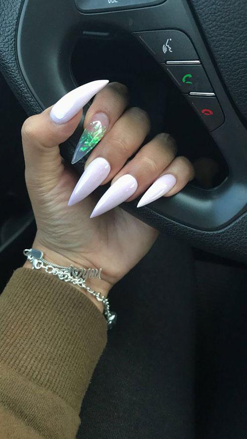 Long Stiletto Nail Designs-10