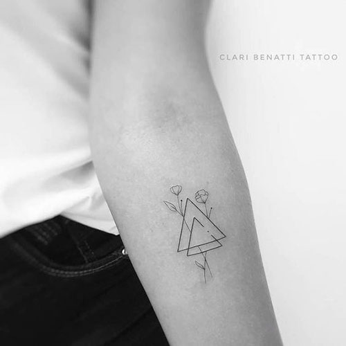 Small Geometric Tattoos-11