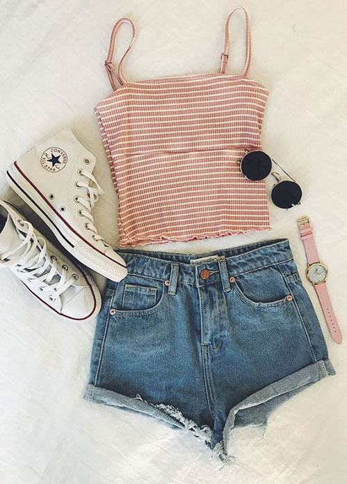 Casual Outfit Ideas for Summer-11