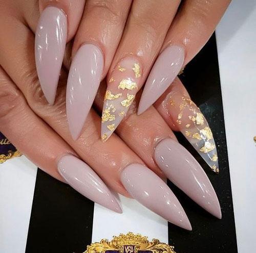 Long Stiletto Nail Designs-12