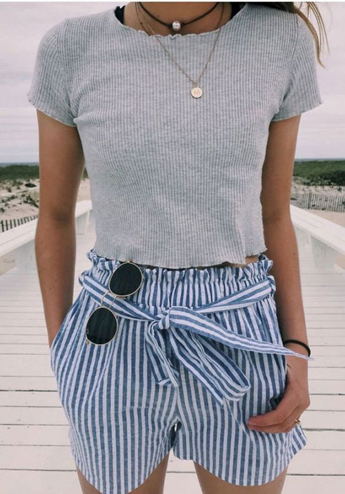 Casual Outfit Ideas for Summer-12