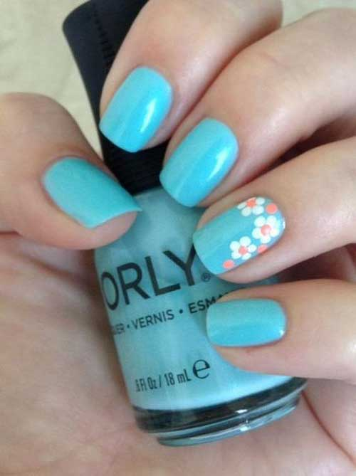 Cute Easy Summer Nails-13