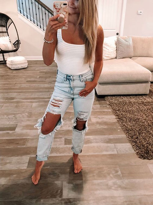Cute Simple Summer Outfits-13