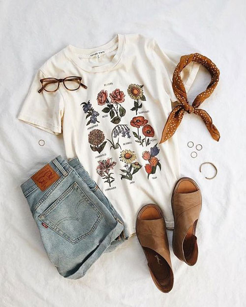 Casual Outfit Ideas for Summer-14