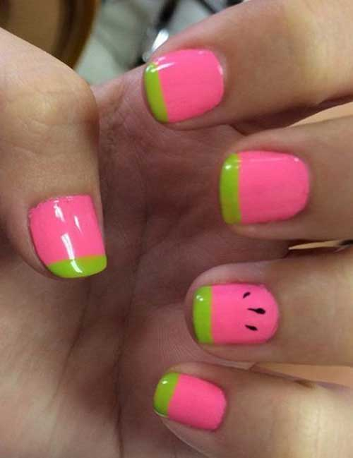 Cute Easy Summer Nails-15