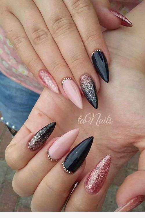 Long Stiletto Nail Designs-15