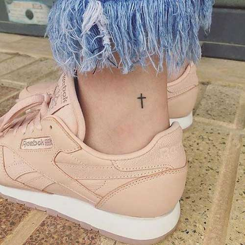 Simple Ankle Tattoos-17