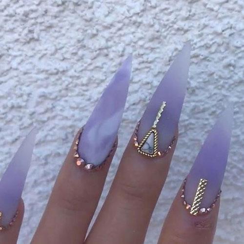 Long Stiletto Nail Designs-17
