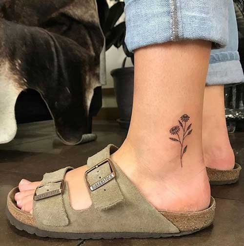 Simple Ankle Tattoos-19