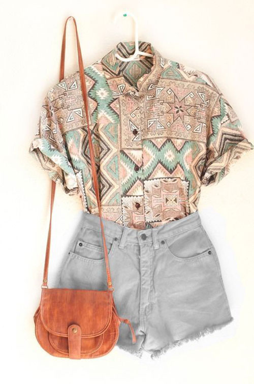 Casual Outfit Ideas for Summer-19