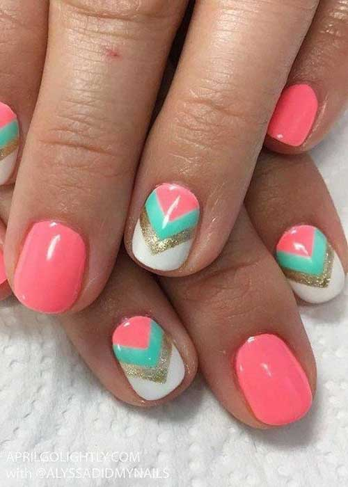 Cute Easy Summer Nails-20