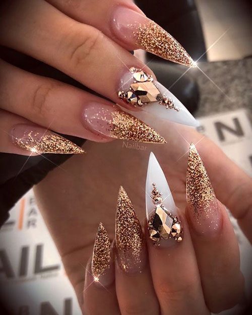 Long Stiletto Nail Designs-20