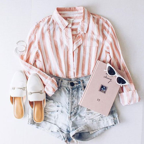 Casual Outfit Ideas for Summer-20