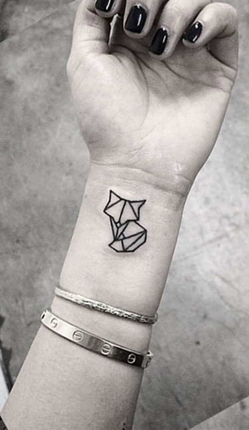 Small Geometric Tattoos-6