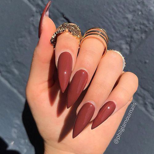 Long Stiletto Nail Designs-6
