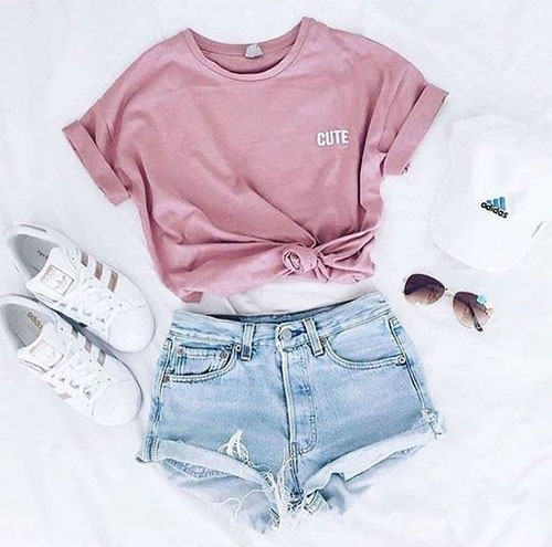 Casual Outfit Ideas for Summer-6