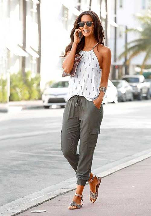 Jogger Pants Spring Style Outfits-8