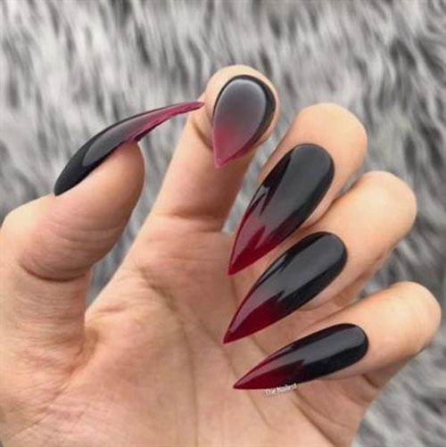 Long Stiletto Nail Designs-8