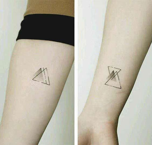 Small Geometric Tattoos-9