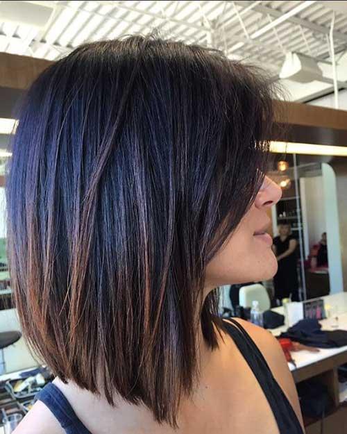 Lob Style Medium Length Hairstyles-9